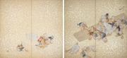 竹内栖鳳《若き家鴨》京都国立近代美術館蔵(前期展示)