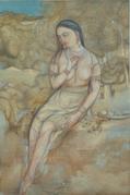 村上華岳《裸婦図》山種美術館蔵